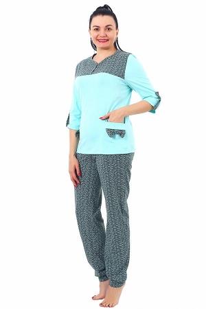 Пижама Соня зелень К-127