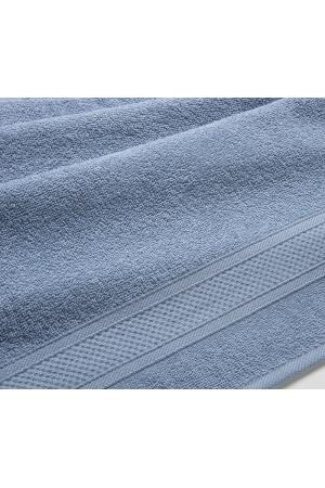 Полотенце махровое Серо-голубой, 400 гр/м2