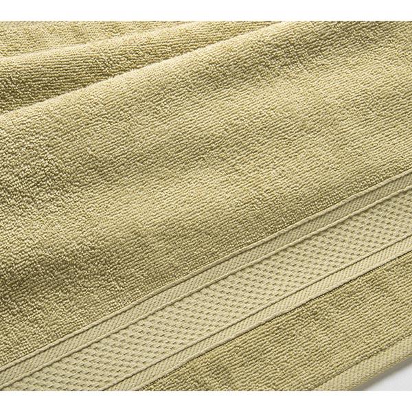 Полотенце махровое Оливковый, 400 гр/м2