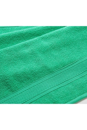 Полотенце махровое Зеленый, 400 гр/м2