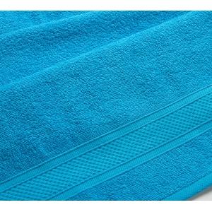 Полотенце махровое Голубой. 400 гр/м2