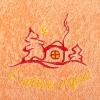 Полотенце махровое Домик, 400 г/м2