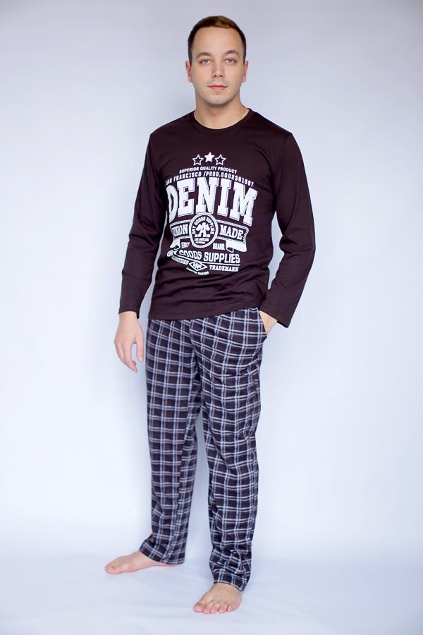 Пижама мужская Деним шоколад МП-1