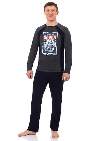 Пижама мужская Севен антрацит МП-3