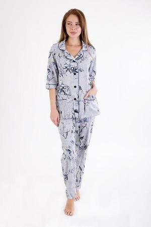 Пижама Таинственные цветы 6478