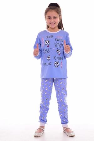 Пижама детская 7-254 (голубой)