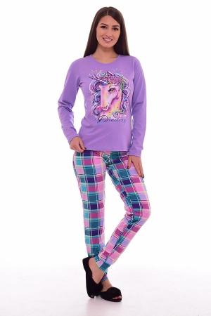 Пижама женская 1-170 (сирень)