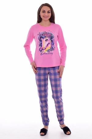 Пижама женская 1-170б (розовый)