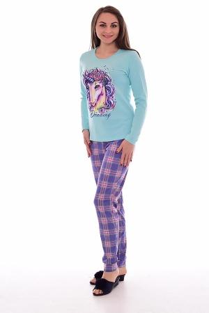 Пижама женская 1-170в (мята 2)