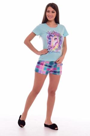 Пижама женская 1-171а (мята)