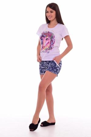Пижама женская 1-172 (джинс)