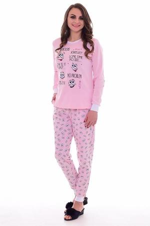 Пижама женская 1-174а (розовый)