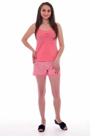 Пижама женская 1-177а (коралл)