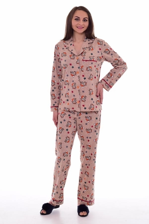 Пижама женская 1-179г (енот)