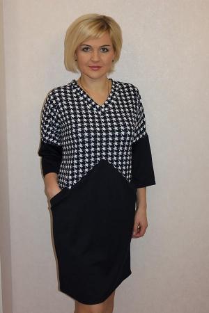 Платье П496