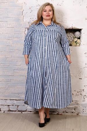 Платье-рубашка Мария ПР-01-7