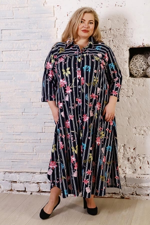 Платье-рубашка Мария ПР-01-5