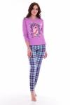 Пижама женская 1-170г (лиловый)