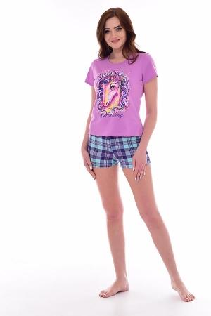 Пижама женская 1-171д (лиловый)