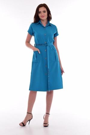 Платье женское ф-1-56 (изумруд)