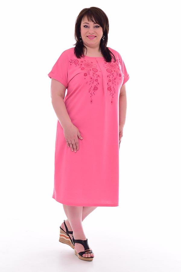 Платье женское 4-67а (коралл)