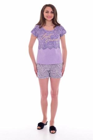 Пижама женская 1-180 (сирень)