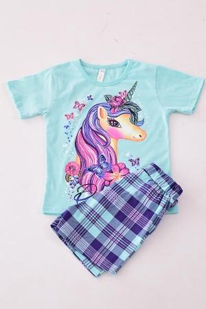 Пижама подростковая 12-082 (ментол)