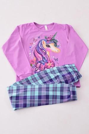 Пижама подростковая 12-073в (лиловый)