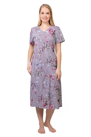 Платье Ялта цветы К-191