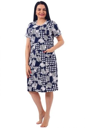 Платье Павлина горох К-92
