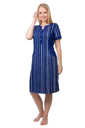 Платье Бенталь синий К-197