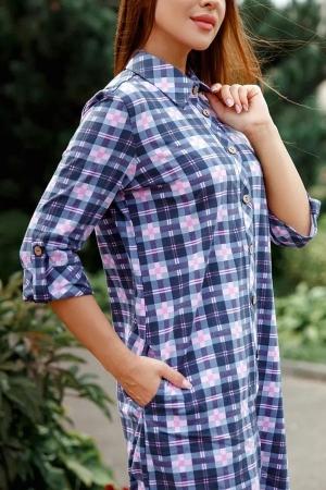 Платье рубашка Келли 6405