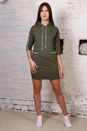 Платье-туника Лакшери ЛВ-339 (зеленый)