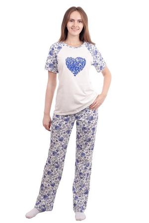 Пижама Сердце К-034
