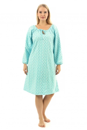 Ночная сорочка Муза голубой ФТ-5
