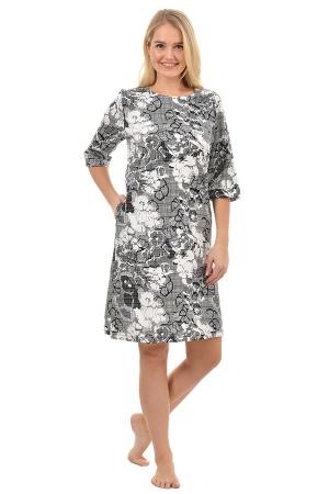 Платье Калипсо серая К-160