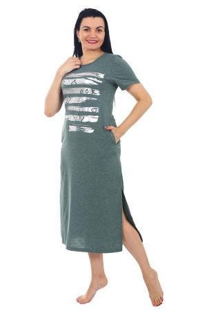 Платье Наоми зелень К-119