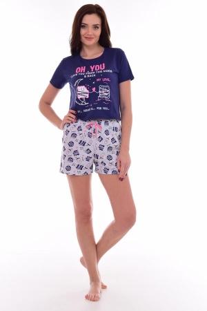 Пижама женская 1-189 (фиолетовый)