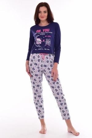 Пижама женская 1-188 (фиолетовый)
