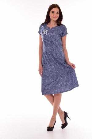 Платье женское 4-69е (джинс)