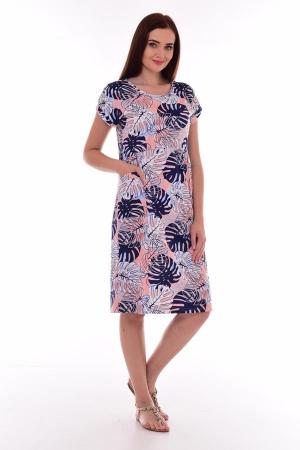 Платье женское 4-080б (синий)