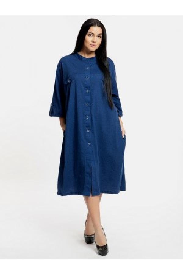 Платье-рубашка 21-01 последний размер