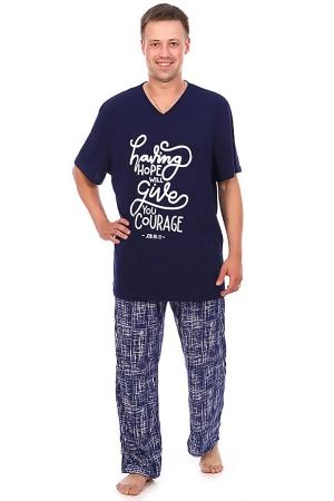 Пижама с принтом 91-02