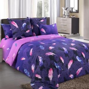 Дуновение фиолетовый постельное белье бязь