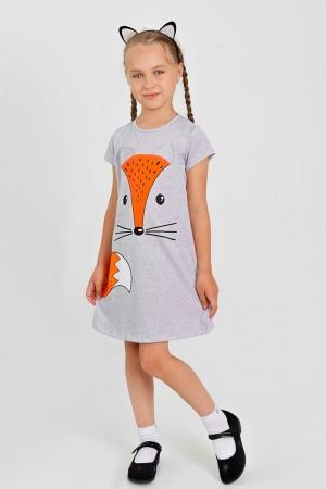 Платье Лисичка