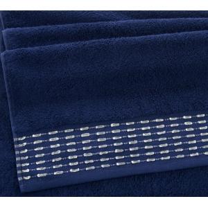 Полотенце махровое Премиум Невада темно-синий, 500г/м