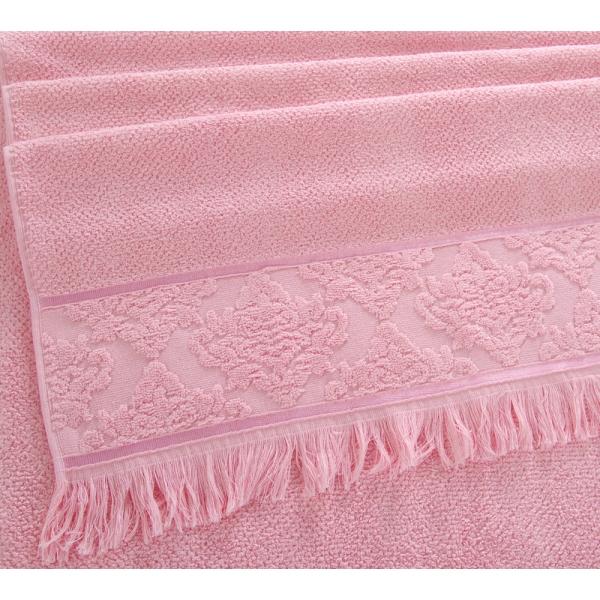 Полотенце махровое Премиум Тоскана розовый, 500г/м
