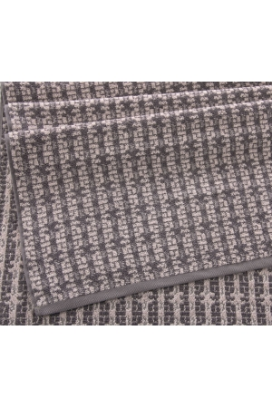 Полотенце махровое Премиум Тироль серый шато, 500г/м