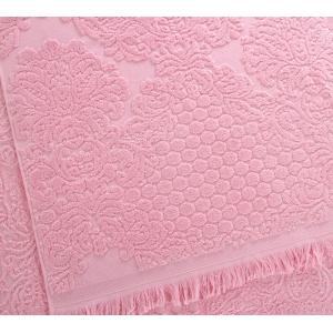 Полотенце махровое Премиум Монако розовый, 500г/м