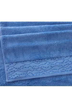 Полотенце махровое Премиум Айова небесно-голубой, 500г/м